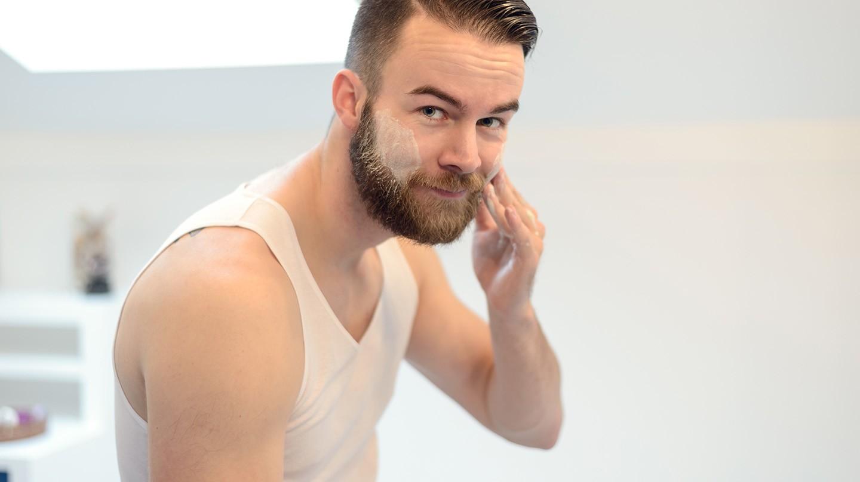 Für Männer ist typgerechte Hautpflege sinnvoll